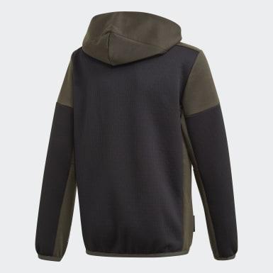 Veste à capuche adidas Z.N.E. AEROREADY Full-Zip Noir Garçons Athletics