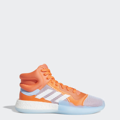 Men Basketball Orange Marquee Boost Shoes