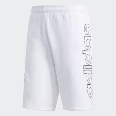 Shorts Outline Blanco Hombre Originals