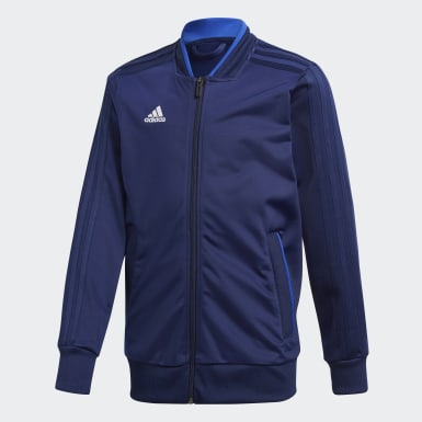 Kinder Training Condivo 18 Jacke Blau