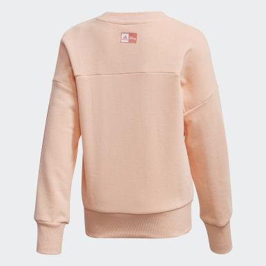 Sweatshirt Minnie Mouse Rosa Raparigas Treino