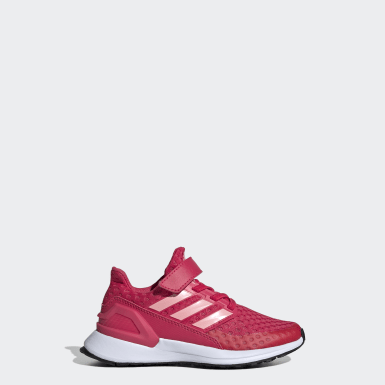 Kids Running Pink RapidaRun Shoes