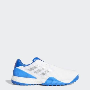 Men Golf White CodeChaos Sport Wide Golf Shoes