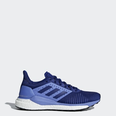 Women Running Blue Solar Glide ST Shoes