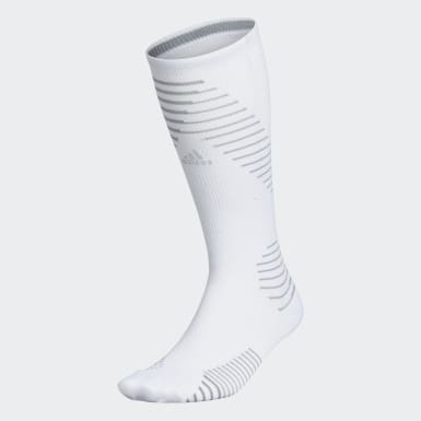 Running White Running Socks