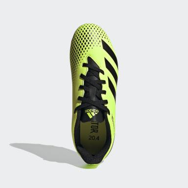 เด็กผู้ชาย ฟุตบอล สีเขียว รองเท้าฟุตบอล Predator Mutator 20.4 Flexible Ground