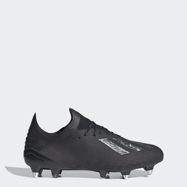 Chaussure X 19.1 Terrain gras Noir Football