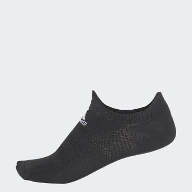 Running Black Alphaskin Ultralight No-Show Socks