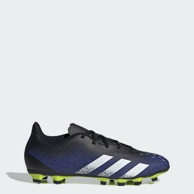 Men Soccer Blue Predator Freak.4 Flexible Ground Cleats