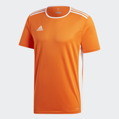 Männer Training Entrada 18 Trikot Orange