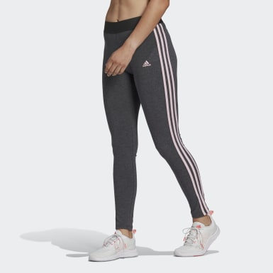 Frauen Athletics LOUNGEWEAR Essentials 3-Streifen Leggings Grau