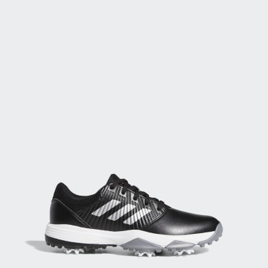 Kids Golf Black CP Traxion Shoes