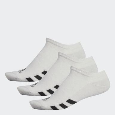Muži Golf šedá No-Show Socks – 3páry
