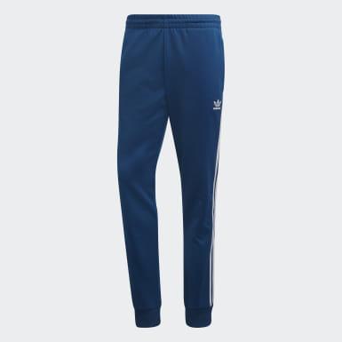 Pantalon de survêtement SST Bleu Hommes Originals