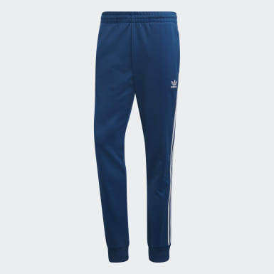 Männer Originals SST Trainingshose Blau