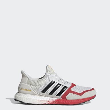 Men Running Grey Ultraboost DNA Shoes