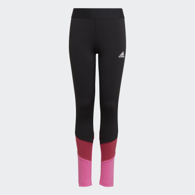 Girls Training Black XFG Primeblue AEROREADY Tights