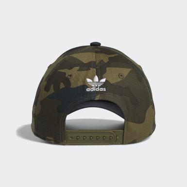 Men Originals Green Icon Snapback Hat