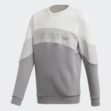 Youth Originals Grey BX-20 Crew Sweatshirt