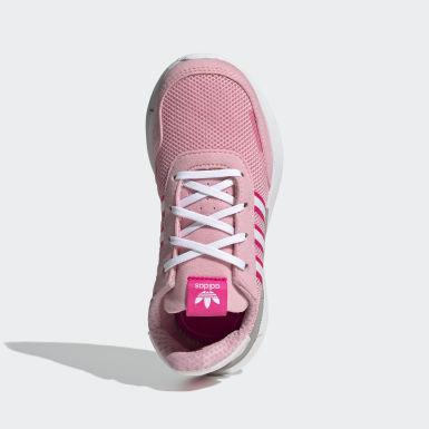 Girls Originals Pink Retroset sko