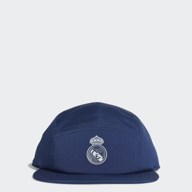 Gorra Real Madrid Five-Panel Azul Fútbol