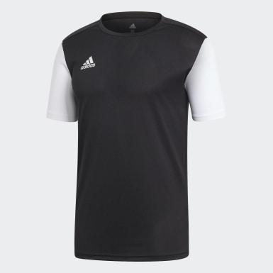 ผู้ชาย ฟุตบอล สีดำ เสื้อฟุตบอล Estro 19