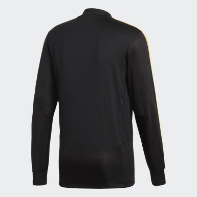 Heren Voetbal Zwart België Trainingsshirt