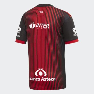 Jersey Titular Atlas FC Rojo Niño Fútbol