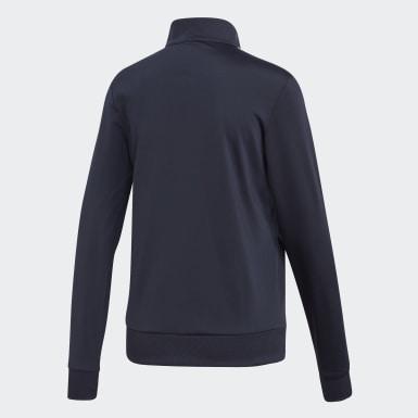 Women's Essentials Blue Essentials Tricot Track Jacket