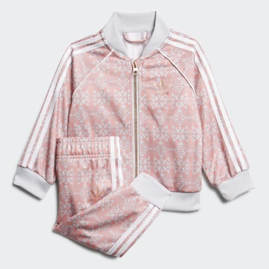 Kids Originals Pink Allover Print SST Suit