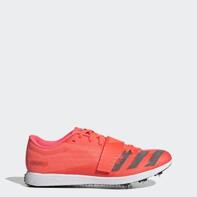 Leichtathletik Adizero Dreisprung / Stabhochsprung Spike-Schuh Rosa