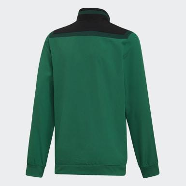 Børn Træning Grøn Tiro 19 Presentation jakke