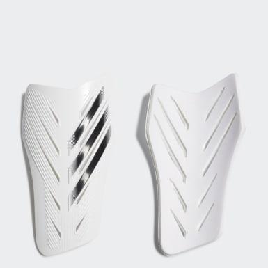 Soccer White X 20 Club Shin Guards