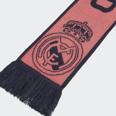 Football Pink Real Madrid Scarf