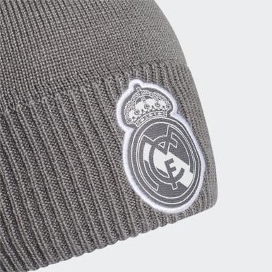 Fußball Real Madrid AEROREADY Mütze Grau