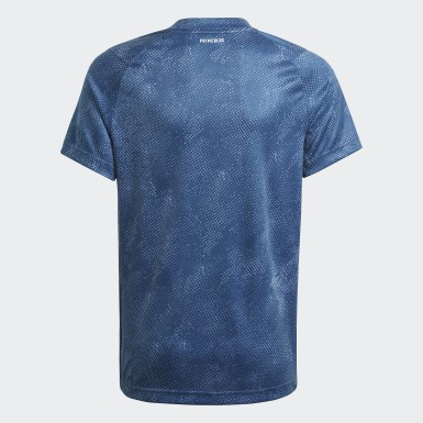 Boys Tennis Blue HEAT.RDY Primeblue Tennis Freelift Tee