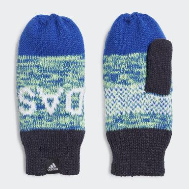 Moufles Graphic Bleu Enfants Sports D'hiver