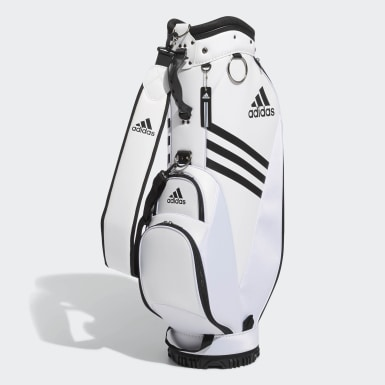 Golf White Basic Caddie Bag