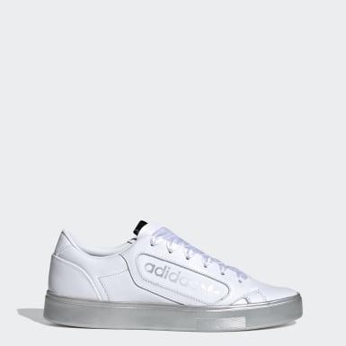 Sapatos adidas Sleek Branco Mulher Originals