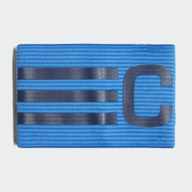 Football Blue Football Captain's Armband