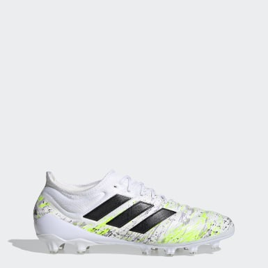 Football White Copa 20.1 Artificial Grass Boots