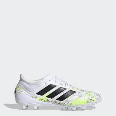 Heren Voetbal Wit Copa 20.1 Artificial Grass Voetbalschoenen