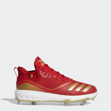 Men's Baseball Red Icon V Cleats