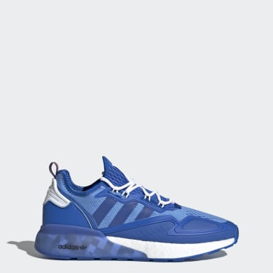 Men Originals Blue Ninja ZX 2K Boost Shoes