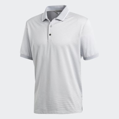 Adipure Heather Stripe Polo Shirt