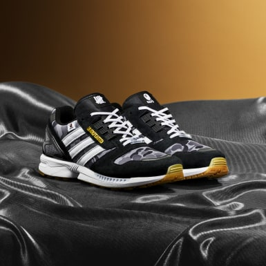 Tenis ZX 8000 BAPE® x UNDFTD (UNISEX) Negro Originals