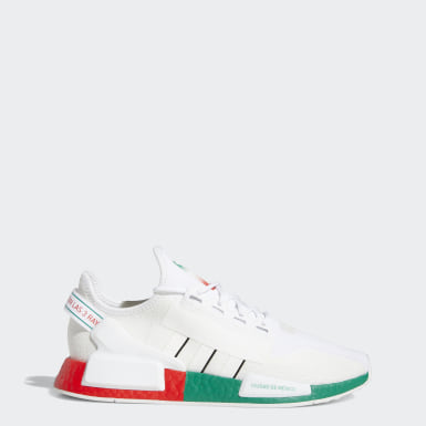 Men's Originals White NMD_R1 V2 Mexico City Shoes