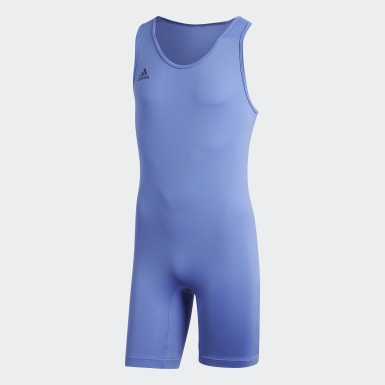 Tenue Haltérophilie Bleu Cross Training