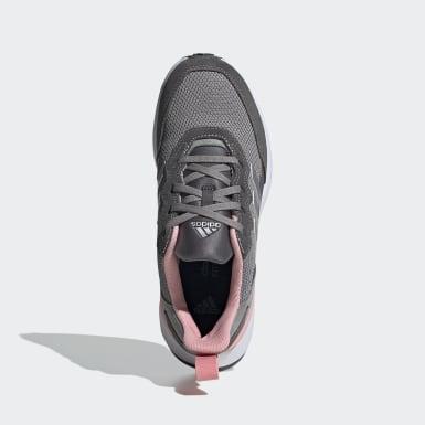 Chaussure RapidaRun Elite gris Adolescents Course