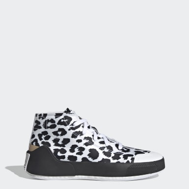 Frauen adidas by Stella McCartney adidas by Stella McCartney Treino Mid-Cut Print Schuh Weiß